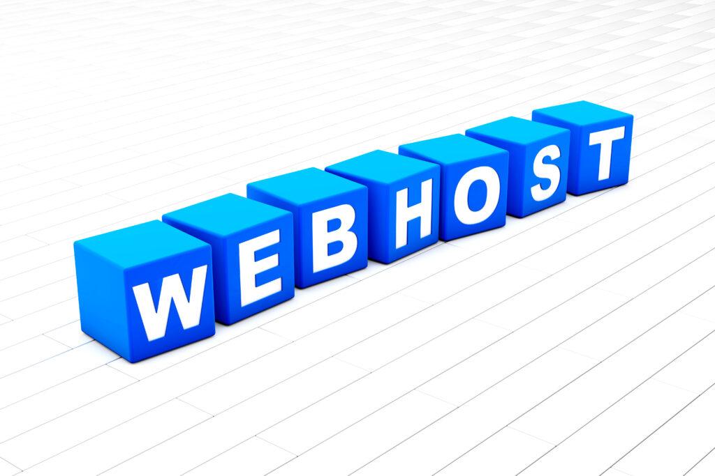 webhost-word-illustration